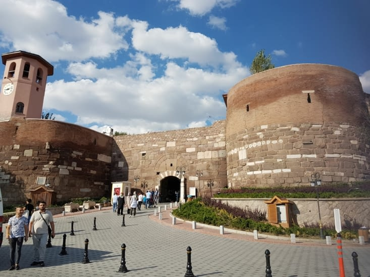"""La citadelle d""""Ankara"""