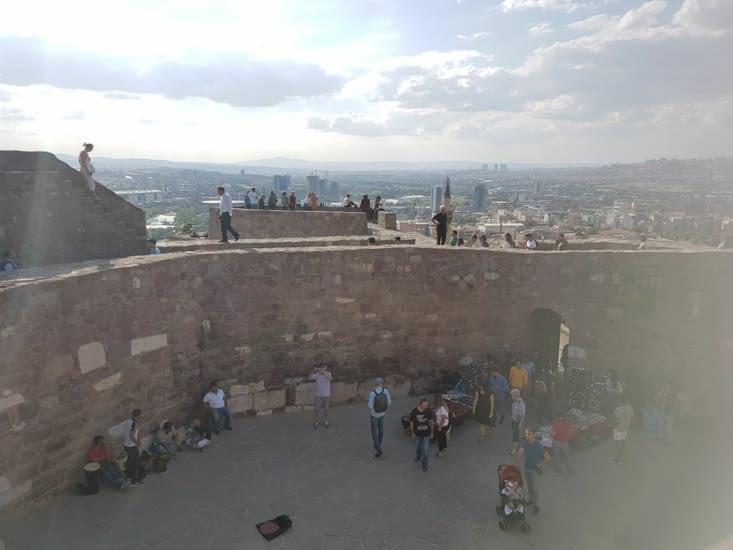 L'intérieur de la citadelle