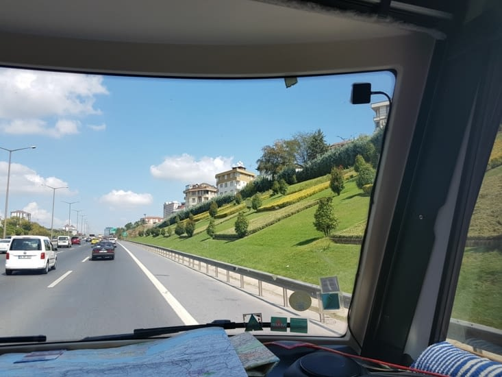 Entrée d'Istanbul