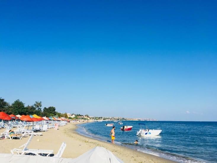 La méditerranée est toujours aussi belle!