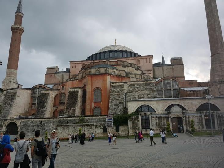 Façade Cathedrale Sainte Sophie