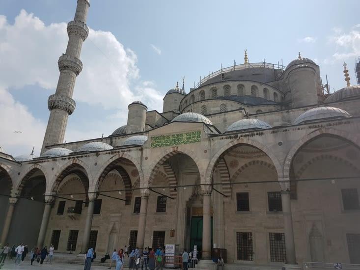 Façade de la Mosquée