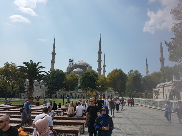 La Cathedrale Sainte Sophie transformée en mosquée puis en musé