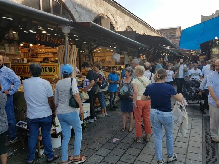 Visite du marché aux epices