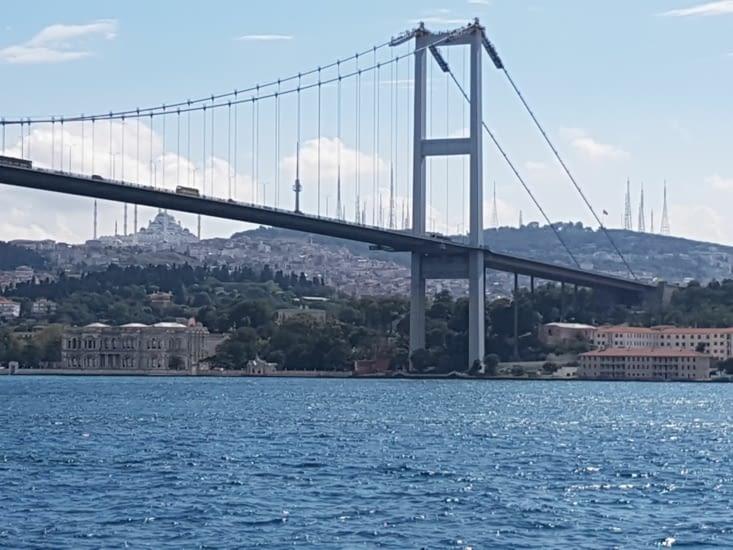 2eme pont construit sur le Bosphore côté Asie