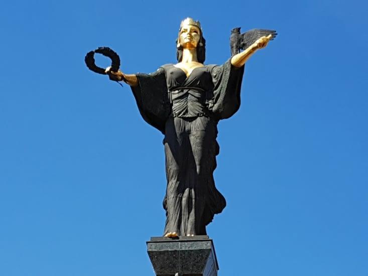 La statue emblématique de Sofia