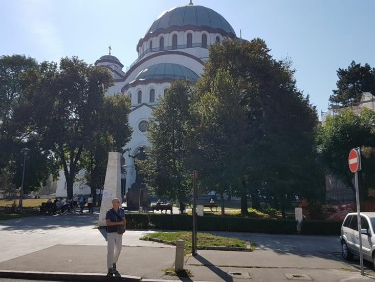 Cathedrale Orthodoxe de Saint Sava commencer en 1935 et pas encore terminée!