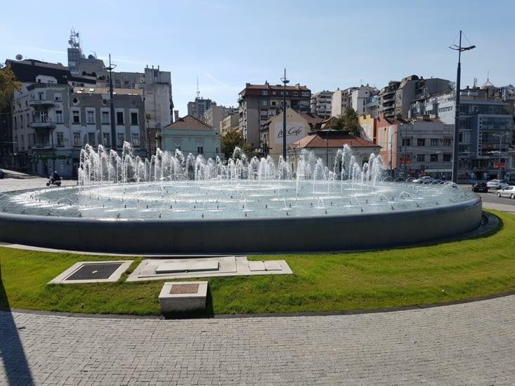 Rond point du centre ville