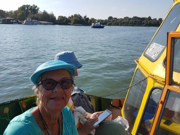 Virée en bateau sur le Danube et la Save