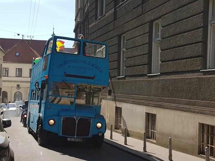 Bus Anglais pour visiter la ville
