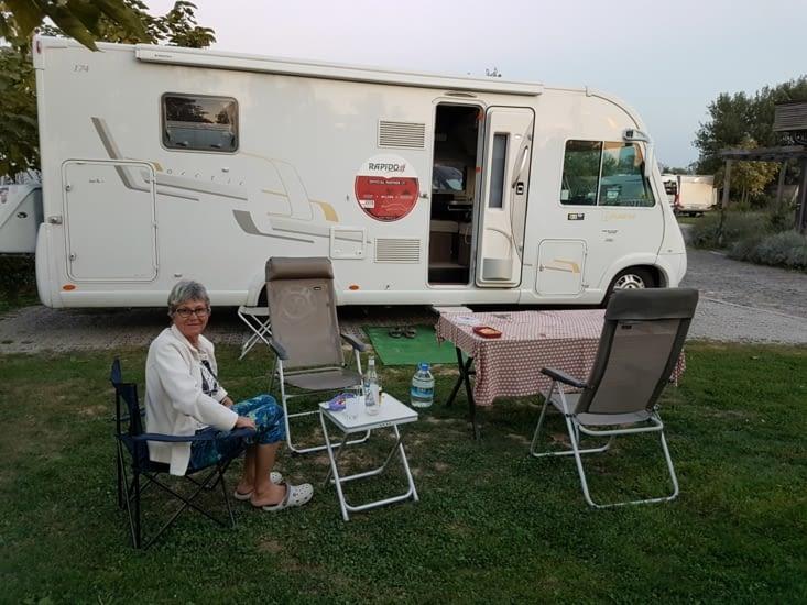 Emplacement dans notre camping 4*