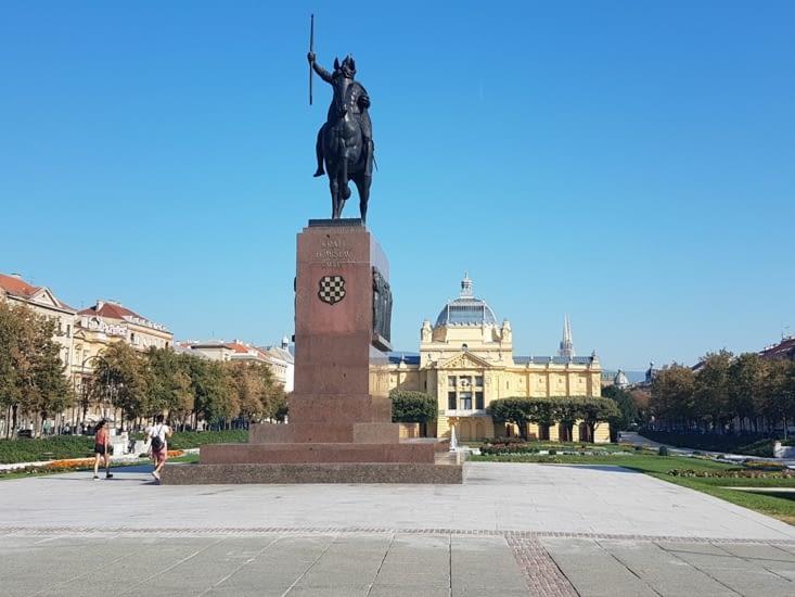 Monument dans le centre ville
