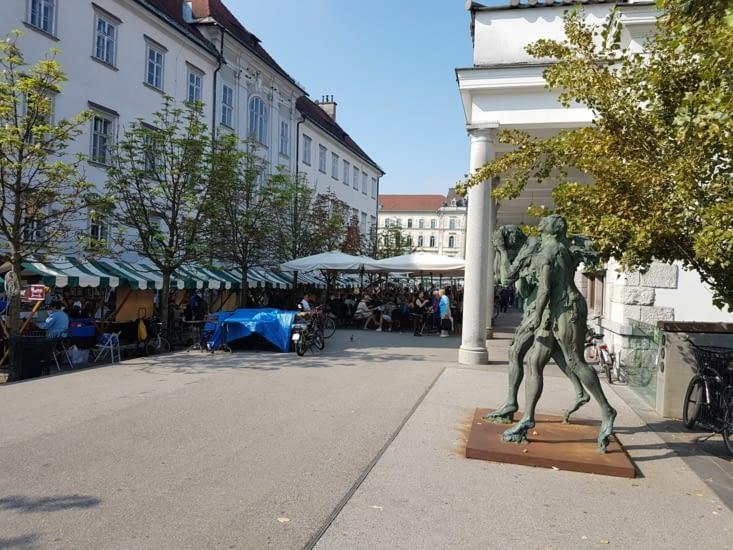 Premiers pas dans Ljubljana