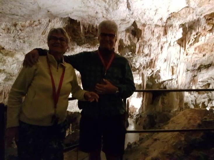 Dernières photos prises dans les superbes grottes de Postojna
