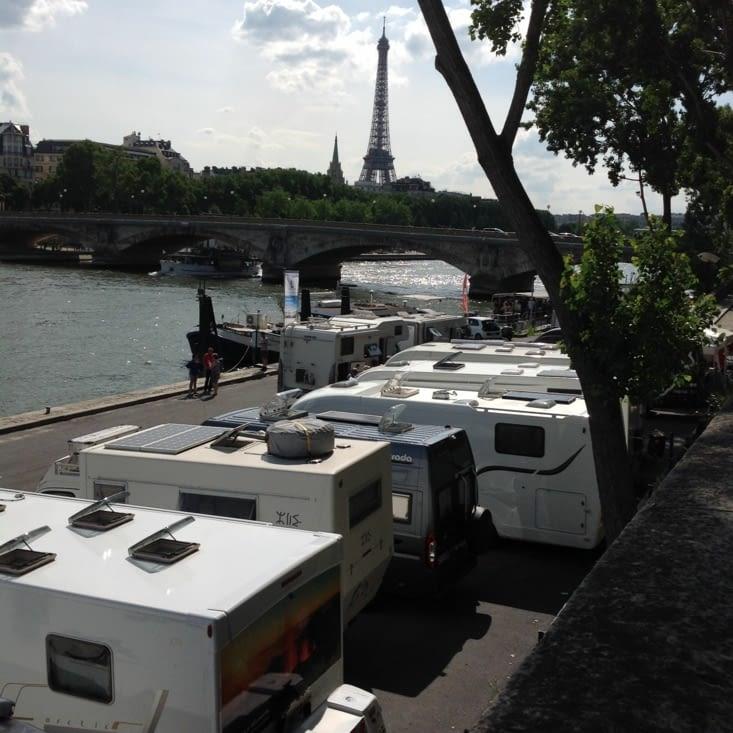 Vue sur la Tour Eiffel!