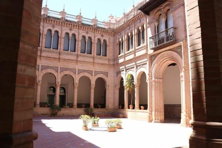 La cour du musée