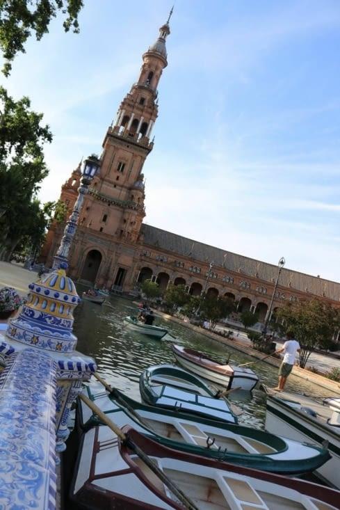 Blog de voyage en Espagne La Plaza Espana et le parc en