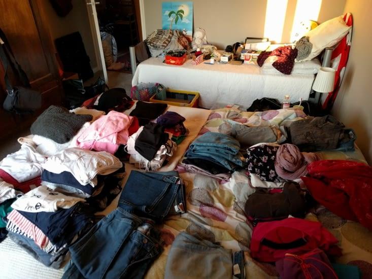 Le casse-tête de la valise :-)