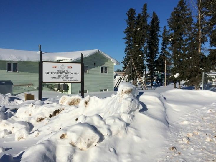 Salt River First Nation 195, à Fort Smith (Territoires du Nord-Ouest)