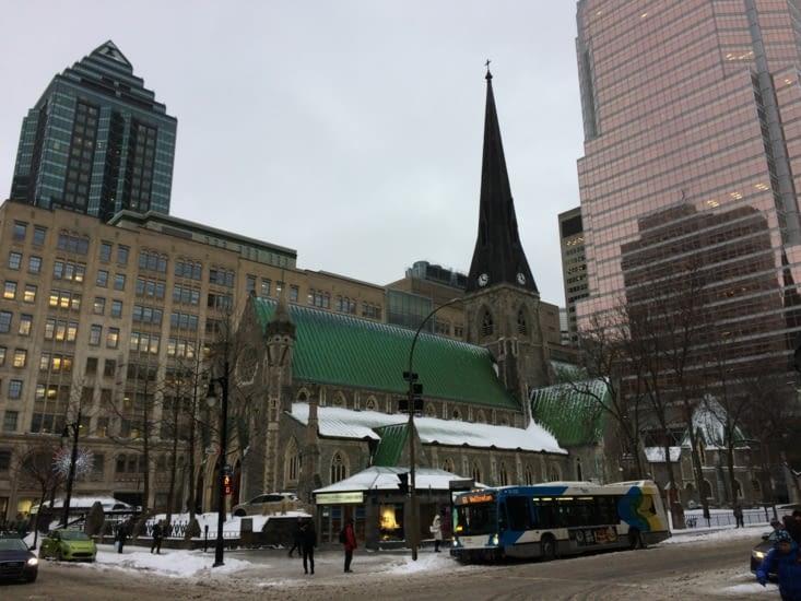 La cathédrale Christ Church de Montréal