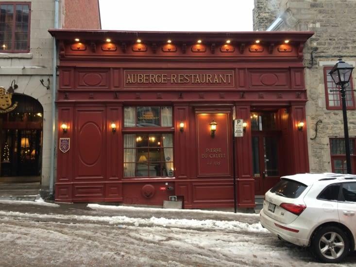 L'auberge restaurant Pierre du Calvet