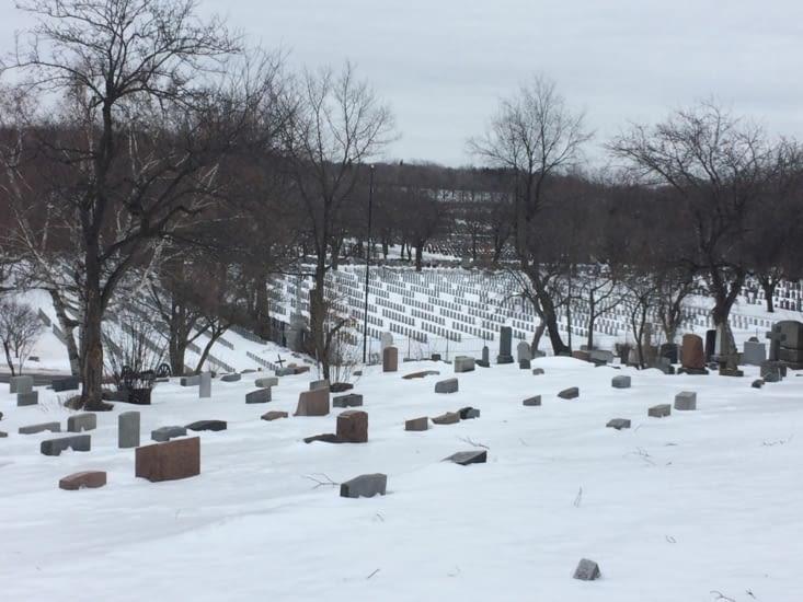 Le cimetière Mont-Royal