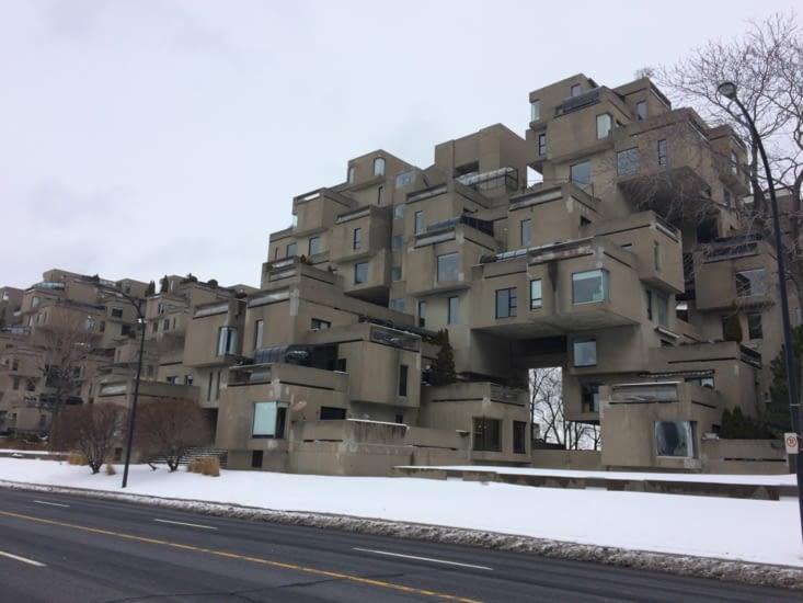 L'ensemble de logements « Habitat 67 »