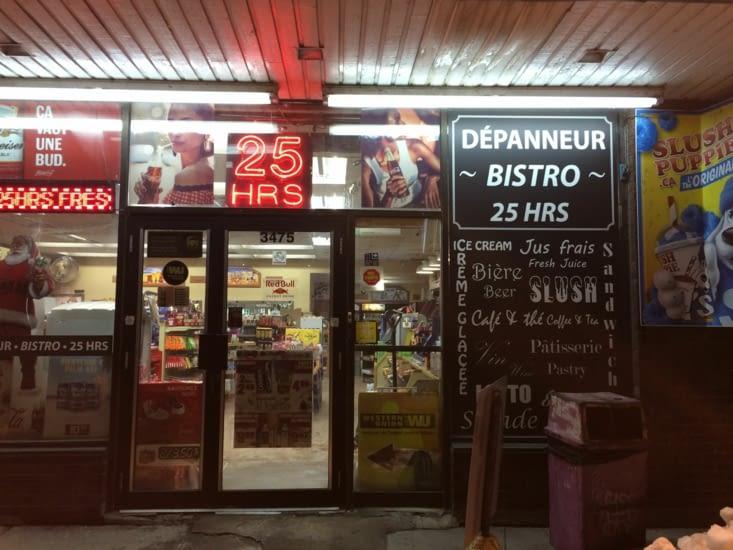 Certains magasins sont même ouverts 25h/24 !