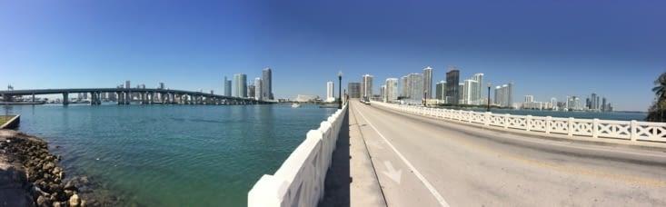 Vue panoramique sur Miami