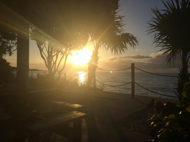 Levé de soleil sur Key West