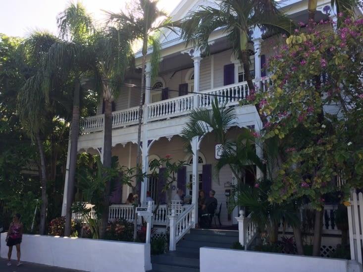 Maison victorienne à Key West