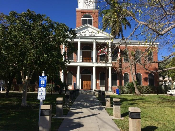 Monroe County Courthouse (palais de justice)