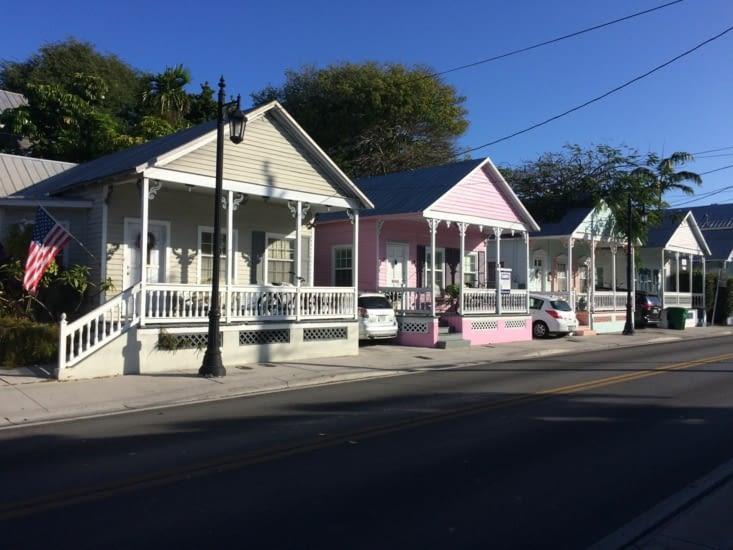 Quartier résidentiel de Key West