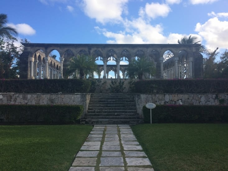 French cloister de Paradise Island