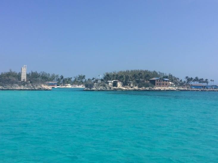 L'entrée de Blue Lagoon Island