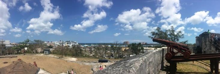 Vue panoramique depuis Fort Fincastle