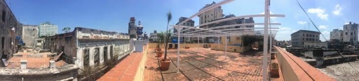 Vue panoramique depuis la terrasse de la résidence Victor Hugo