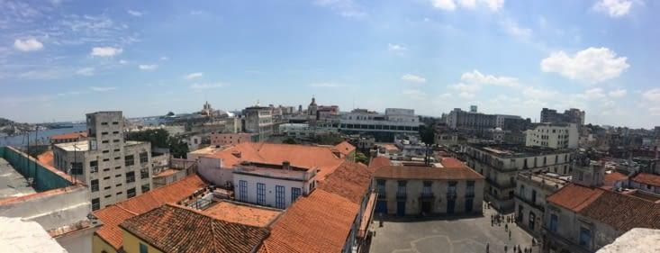 Vue panoramique depuis le clocher de la Cathédrale de la Vierge Marie