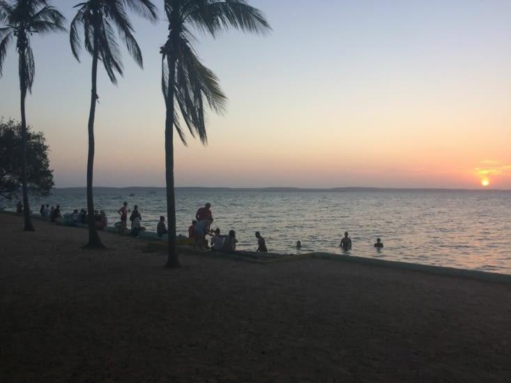 Couché de soleil depuis la Punta Gorda Cienfuegos