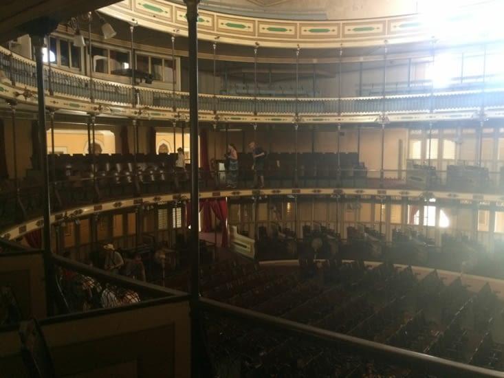 L'intérieur du théâtre Tomás Terry