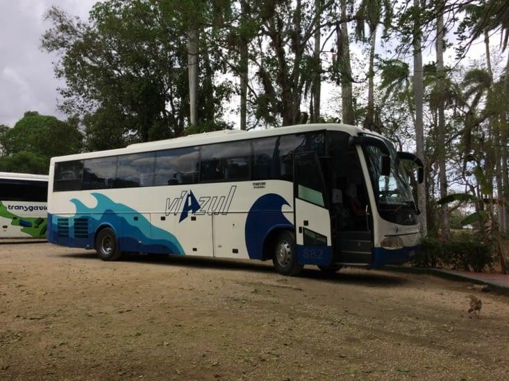 Un autocar de la société Viazul