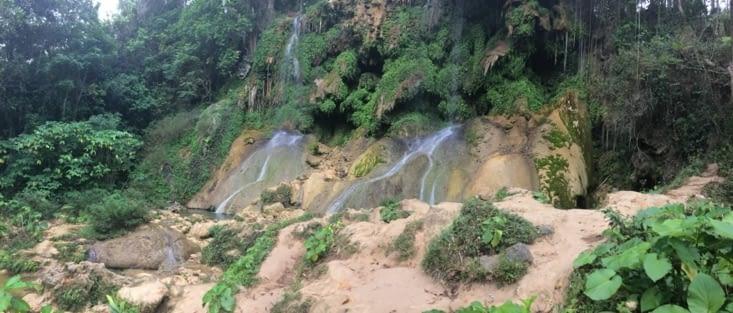 Une première cascade