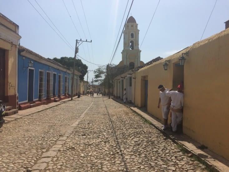 Une rue de Trinidad