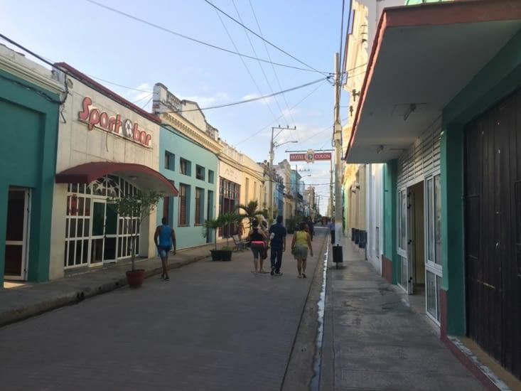 Calle Republica, la principale artère commerçante