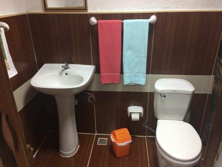 La salle de bains de ma casa à Camagüey