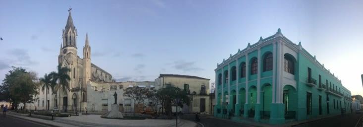 Vue panoramique sur le parc José Marti