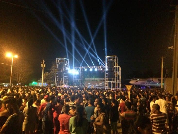 Concert de Buena Fe à Santa Clara