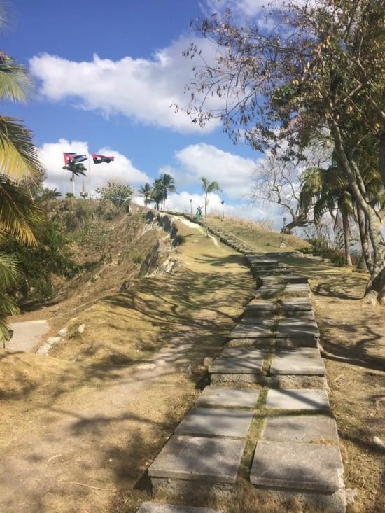La colline del Capiro se mérite !