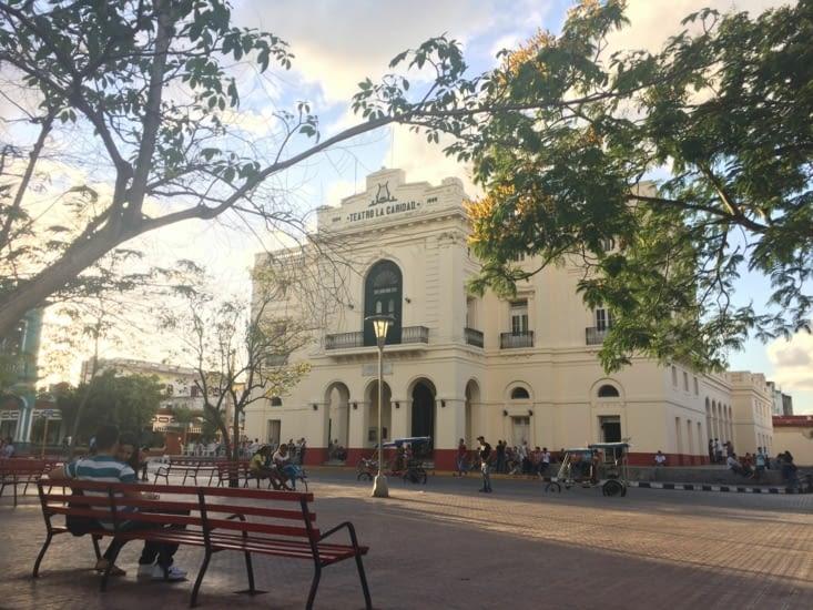 Le théâtre La Caridad