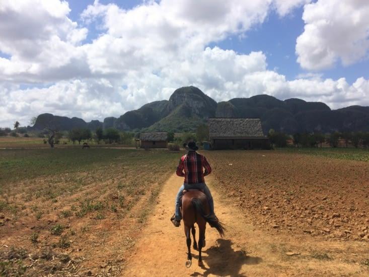 À cheval dans la Vallée de Viñales
